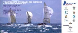Cartel IV Campeonato Interclubs de Cruceros